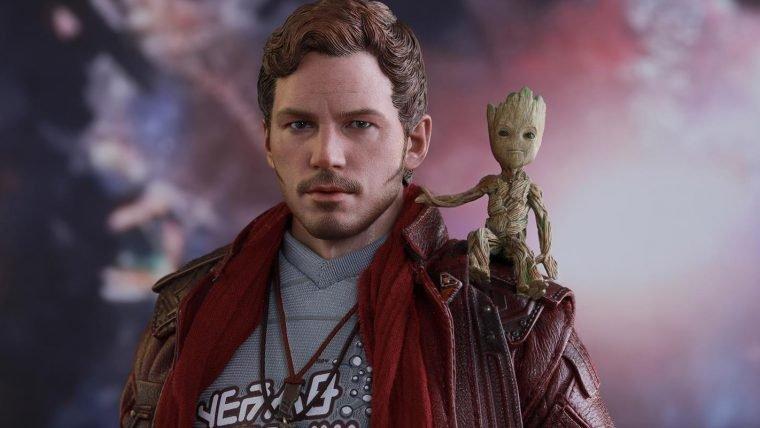 Guardiões da Galáxia Vol. 2 | Senhor das Estrelas da Hot Toys chega muito bem acompanhado