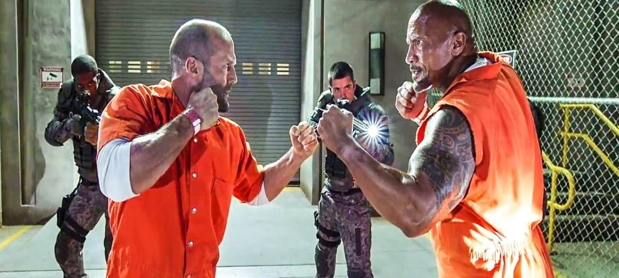 Universal vai produzir spin-off de Velozes e Furiosos com The Rock e Jason Statham