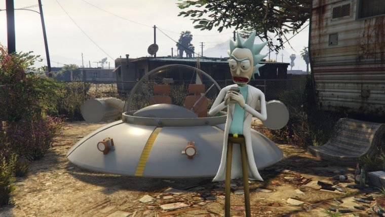 GTA V | Modificação leva Rick Sanchez, de Rick and Morty, para Los Santos