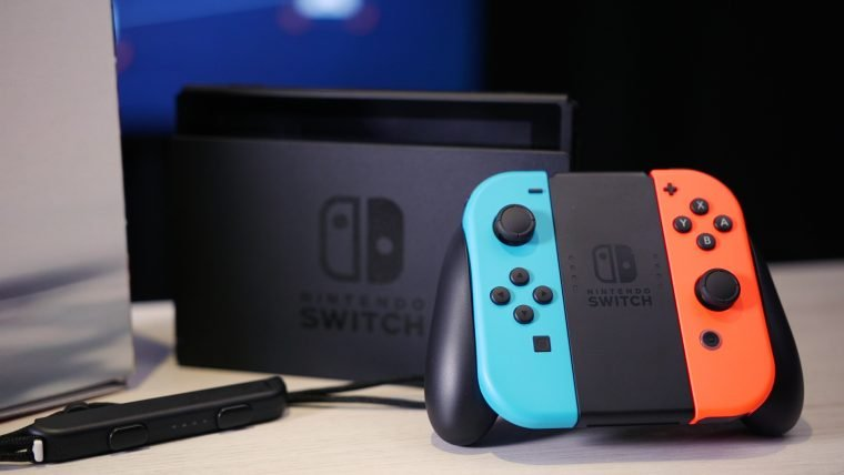 Nintendo vendeu mais de 900 mil unidades do Switch nos Estados Unidos