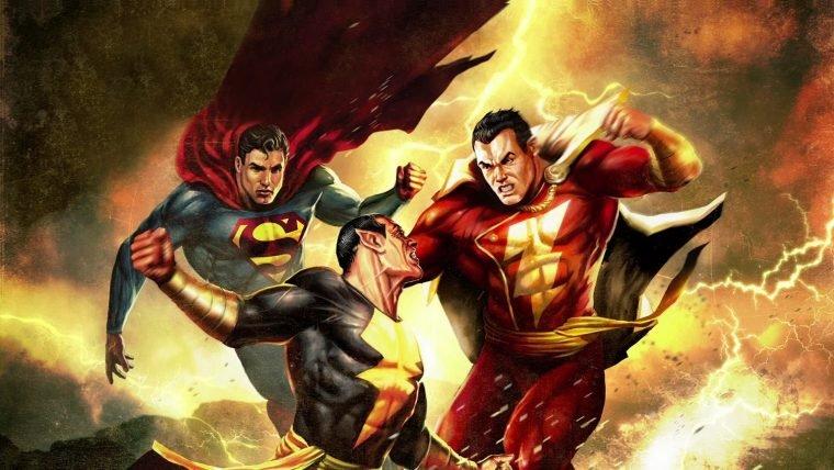 The Rock sugere crossover de Adão Negro, Shazam e Liga da Justiça