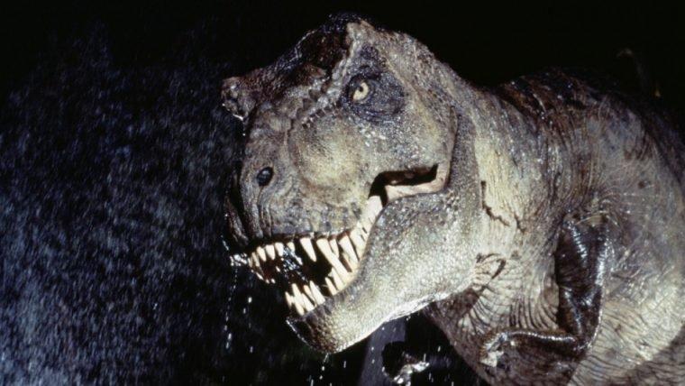 Storyboards não usados de Jurassic Park revelam ataque de T-Rex