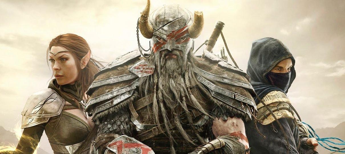 The Elder Scrolls Online está gratuito para jogar por uma semana