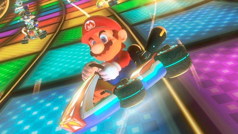 Em Mario Kart 8 Deluxe é possível jogar sem encostar no controle