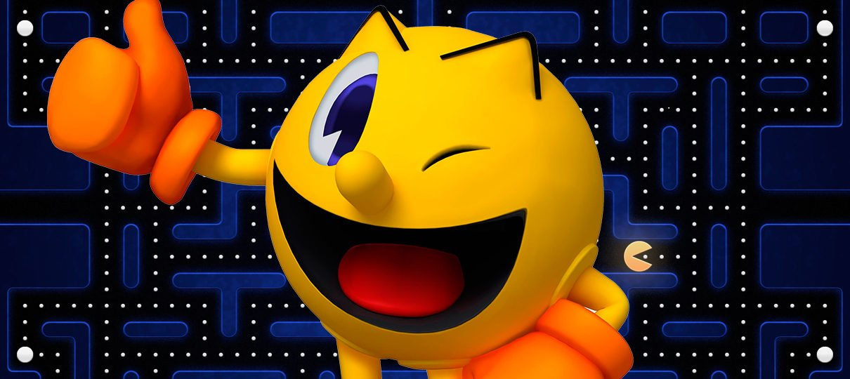 "Bandai Namco registra marca ""Pac-Man Maker"" na Europa"