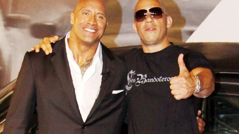Vin Diesel comenta suposta treta com The Rock