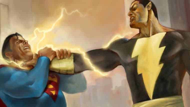 The Rock diz que Adão Negro vai lutar com Superman