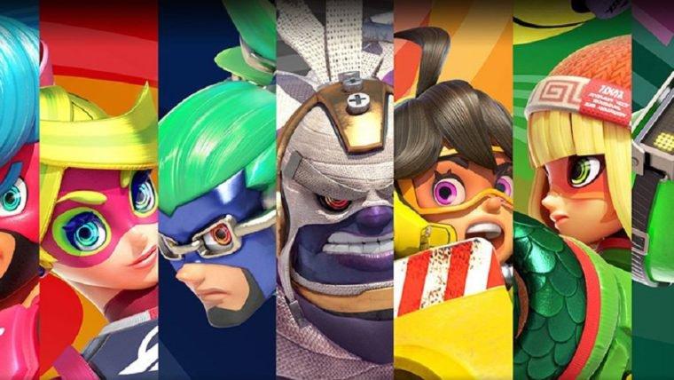 Nintendo anuncia Direct de ARMS e Splatoon 2 para amanhã (17)