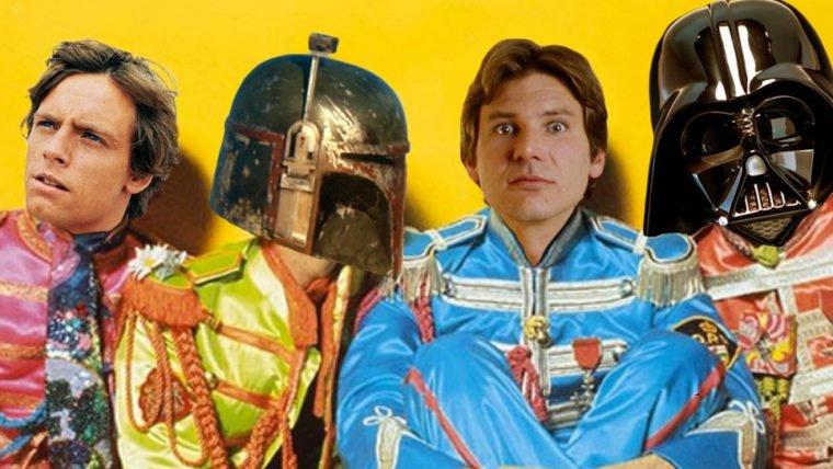 Dupla mistura Beatles e Star Wars em paródias hilárias!