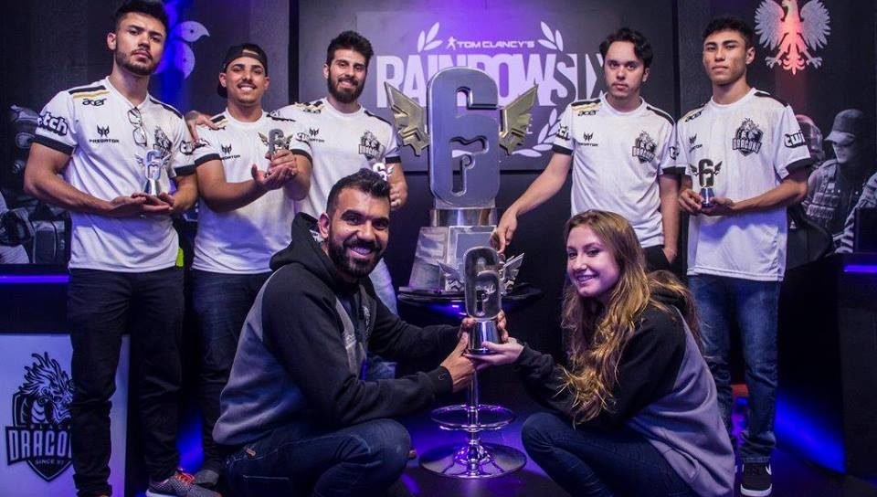 BRK e-Sports compra line-up de Rainbow Six da Black Dragons