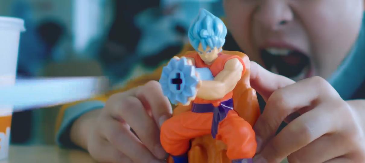 Dragon Ball Super é o novo tema do McLanche Feliz no Japão