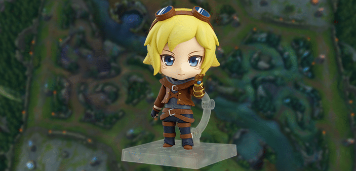 League of Legends | Ezreal vira figura da linha Nendoroid
