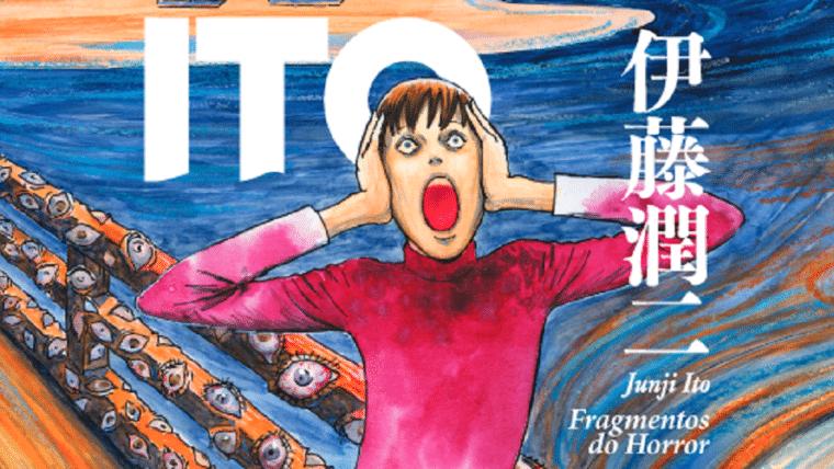 Capa de coletânea de Junji Ito é revelada