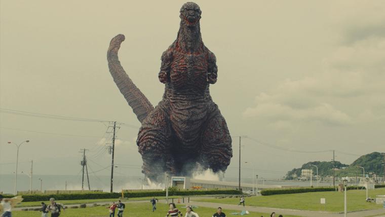 Fuja do EVA-01 e do Godzilla em City Shrouded in Shadow