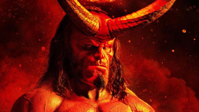 Hellboy arde em chamas no novo pôster do filme