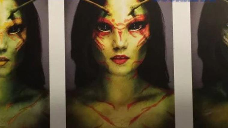 Guardiões da Galáxia Vol. 2 | Artes conceituais mostra visuais alternativos para Mantis