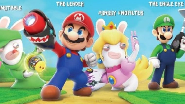 Mario + Rabbids Kingdom Battle ganha classificação indicativa no Brasil