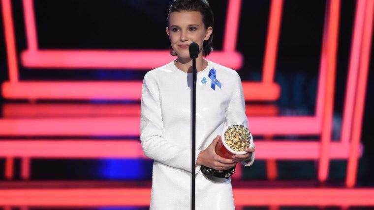 Stranger Things | Millie Bobby Brown faz zuera com seu discurso no MTV Awards