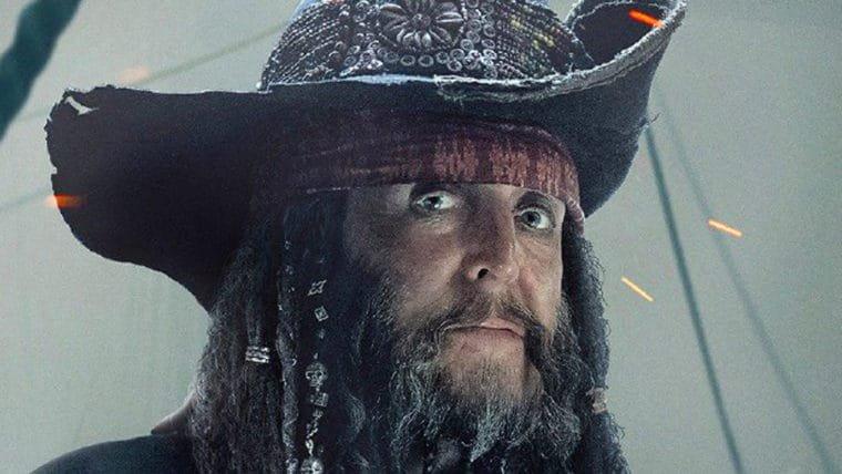 Paul McCartney aparece em novo pôster de Piratas do Caribe: A Vingança de Salazar