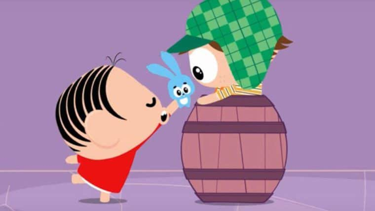 Turma da Mônica e Chaves se encontram em animação