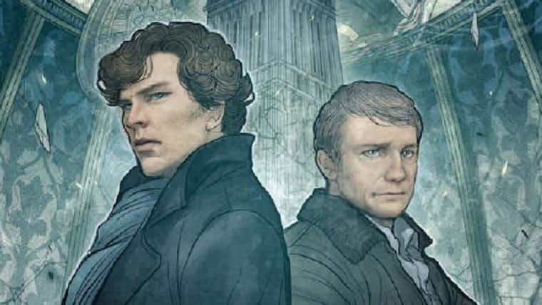 Mangá de Sherlock: The Great Game tem sua capa divulgada