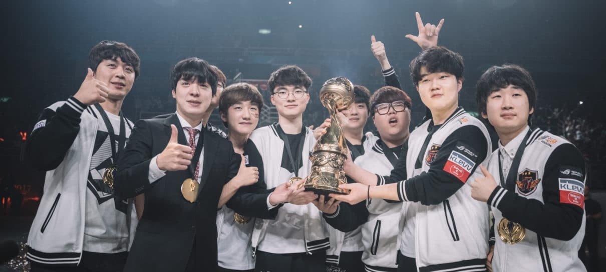 League of Legends | SK Telecom T1 vence G2 Esports e é bicampeã do MSI