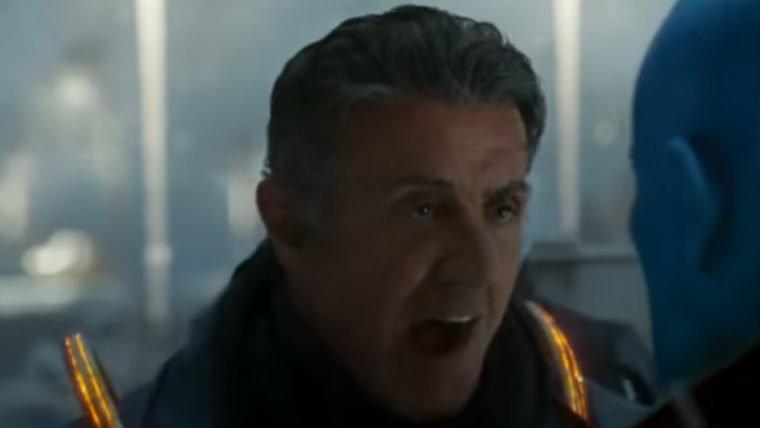 Guardiões da Galáxia vol. 2   Águia Estelar confronta Yondu em novo clipe