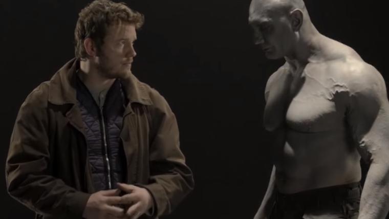 Guardiões da Galáxia | Assista ao teste de Chris Pratt e Dave Bautista para o filme