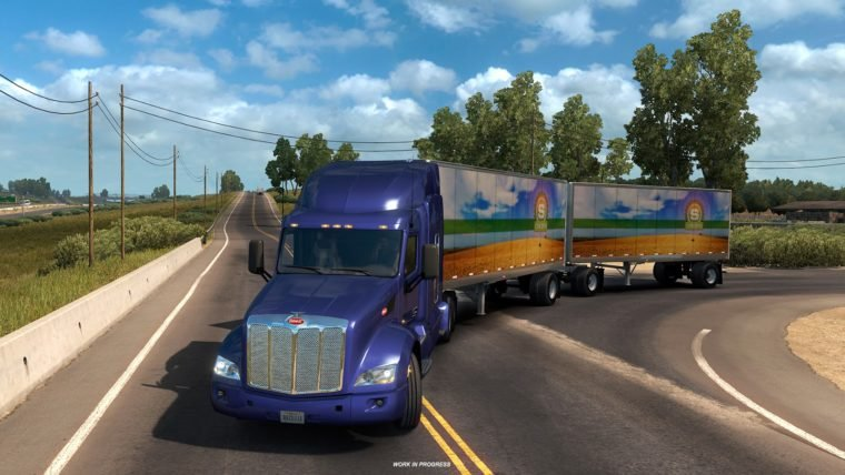 Truck Simulator terá caminhão com dois trailers em breve