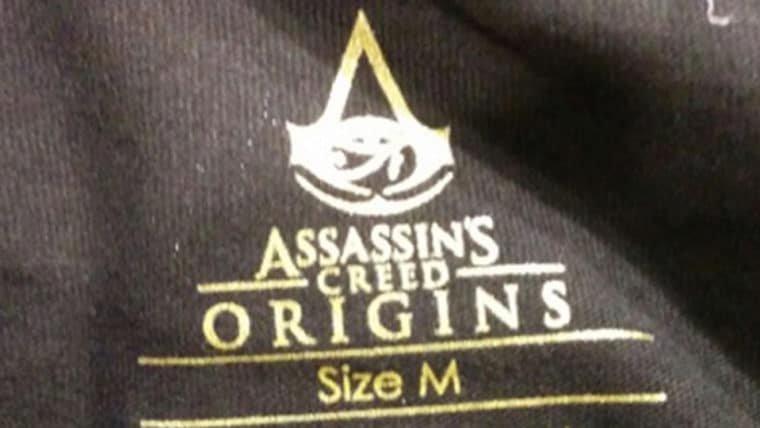 Produtos revelam logo e novo símbolo de Assassin's Creed Origins