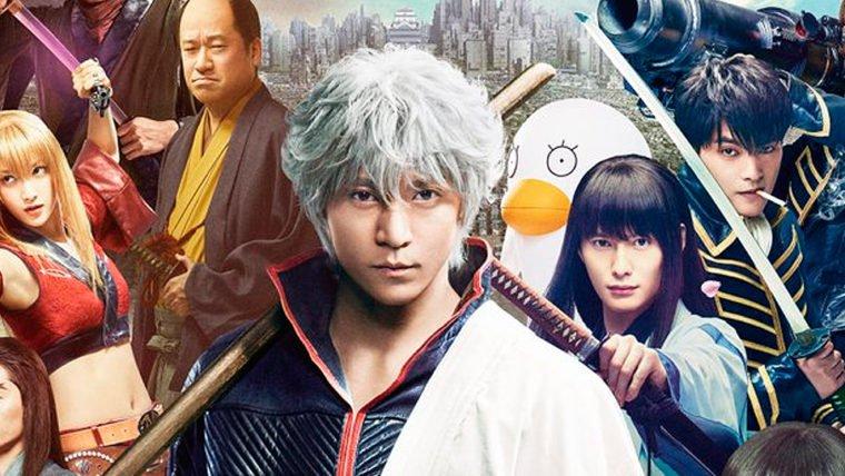 Gintama | Gintoki e Shinsengumi são destaques em novas imagens do live-action