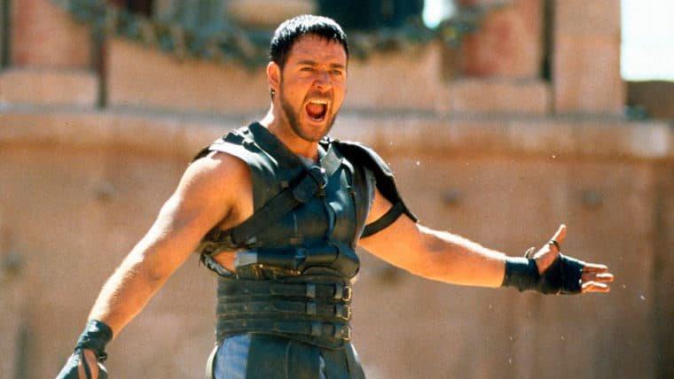 Russell Crowe fala sobre possível sequência de Gladiador!