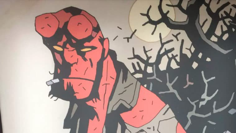 Hellboy: Rise of the Blood Queen   Reboot ganha primeira arte oficial