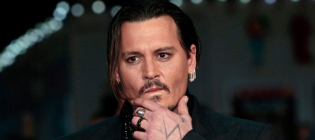 Johnny depp topless