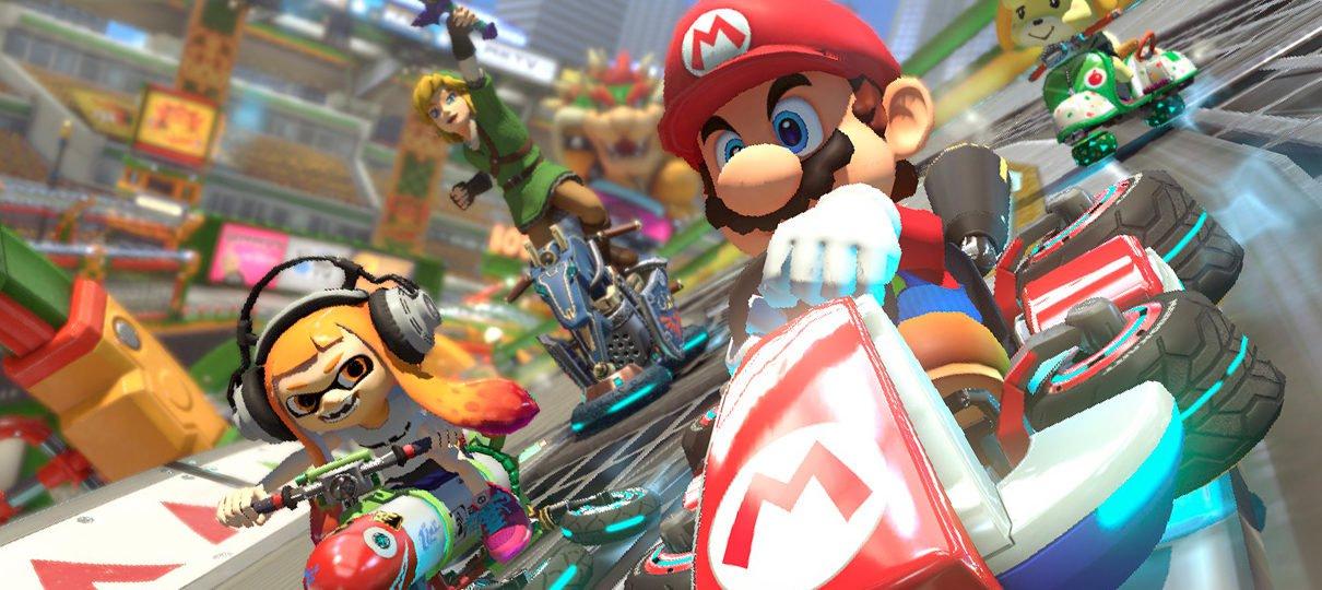 Mario Kart 8 Deluxe vendeu mais de 459 mil cópias nos EUA no primeiro dia