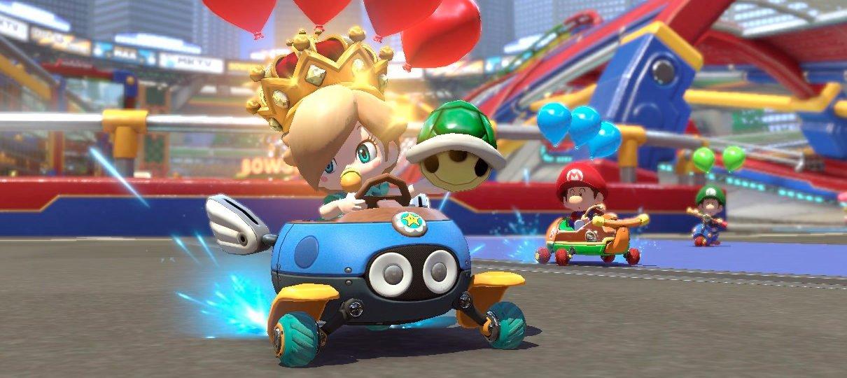 Mario Kart 8 Deluxe | Nova função ajuda garota de quatro anos que sofreu AVC a jogar