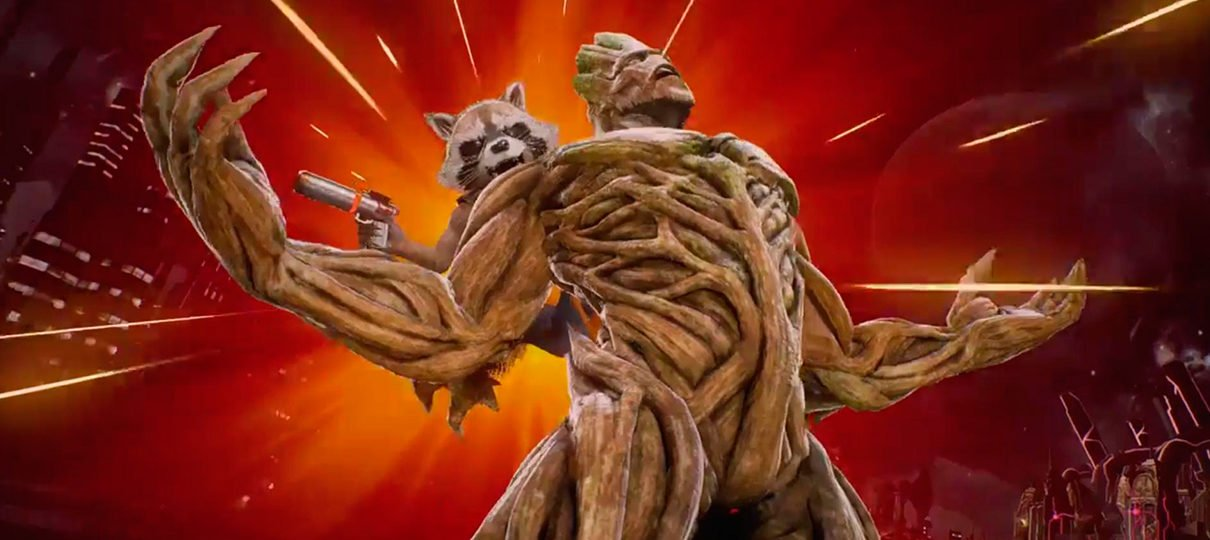 Marvel vs. Capcom: Infinite | Rocket e Groot mostram ataque especial em novo vídeo
