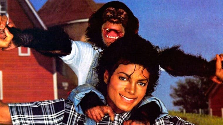 Bubbles | Netflix adquire direitos de filme animado sobre chimpanzé de Michael Jackson