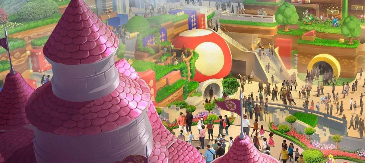 Super Nintendo World | Marca da área temática é registrada nos Estados Unidos