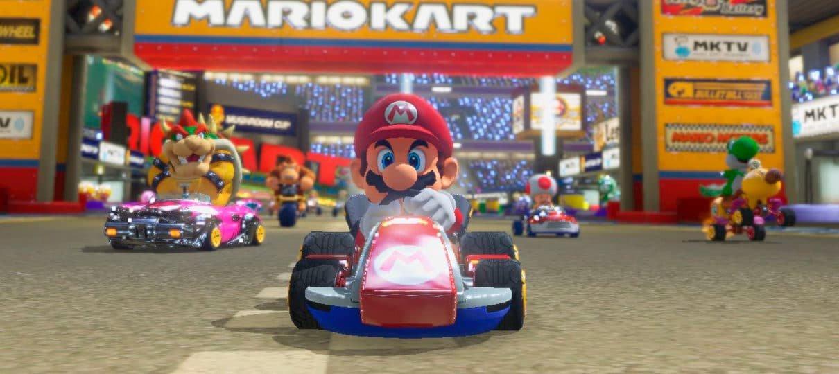 """Super Nintendo World pode ter atração de Mario Kart e """"outros eventos com veículos"""""""
