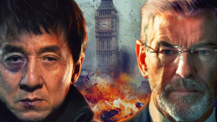 O Estrangeiro   Jackie Chan e Pierce Brosnan batem de frente em novo trailer