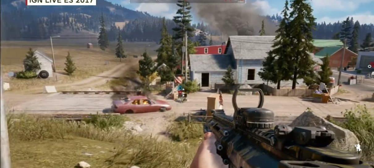 E3 2017 | Assista dez minutos de gameplay inédito de Far Cry 5