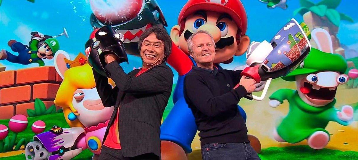 E3 2017 | Até Miyamoto apareceu na conferência da Ubisoft; confira os destaques!