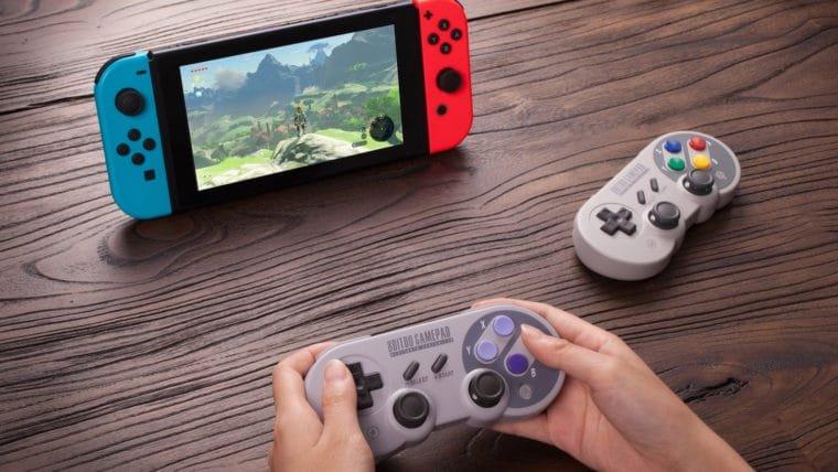 Nostalgia: controle de SNES ganha versão adaptada para Switch