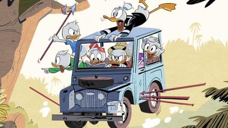 Nova série dos DuckTales estreia em agosto; veja as novas imagens