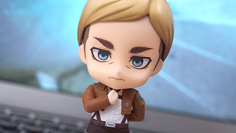 Attack on Titan | Nendoroid de Erwin pode te dar SPOILERS