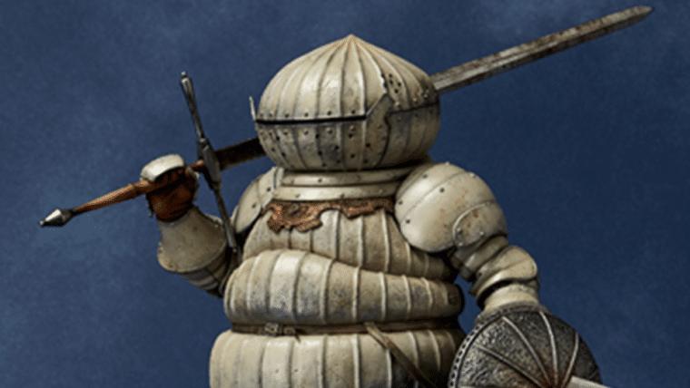 Dark Souls   Tente não chorar com essa linda estátua do Onion Knight