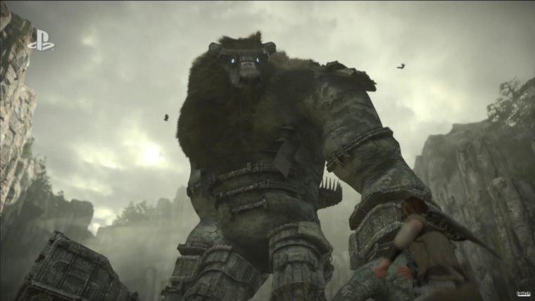 E3 2017 | BOOM! Shadow of the Colossus Remake é anunciado