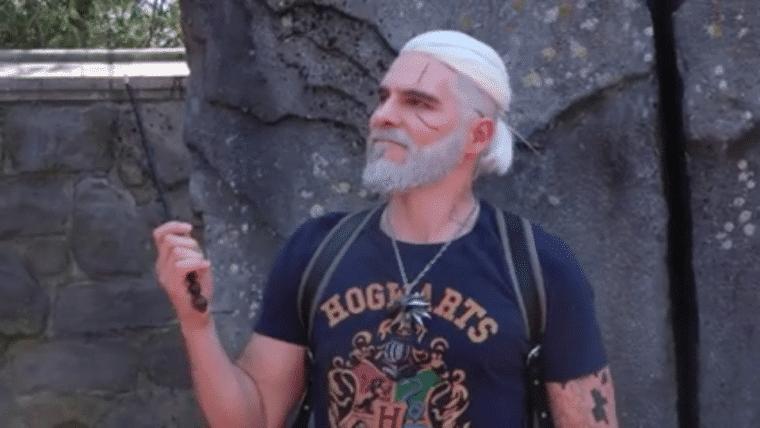 Você é um bruxeiro, Geralt: cosplayer faz homenagem aos 20 anos de Harry Potter