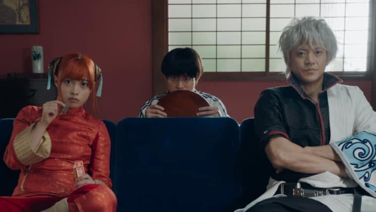 Gintama | Novo trailer do live-action mostra mais ação